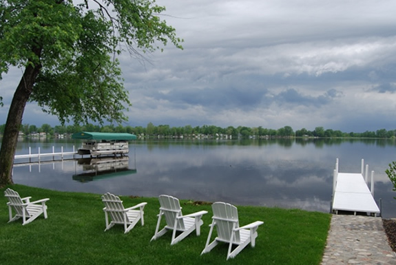 Chairs on the Lake